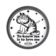 To Know Me Is To Love Me Wall Clock
