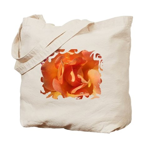 Rose Close Up Tote Bag
