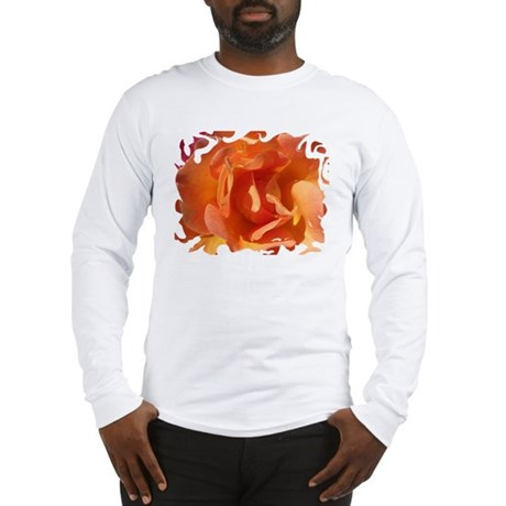 Rose Close Up Long Sleeve T-Shirt