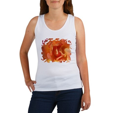 Rose Close Up Women's Tank Top