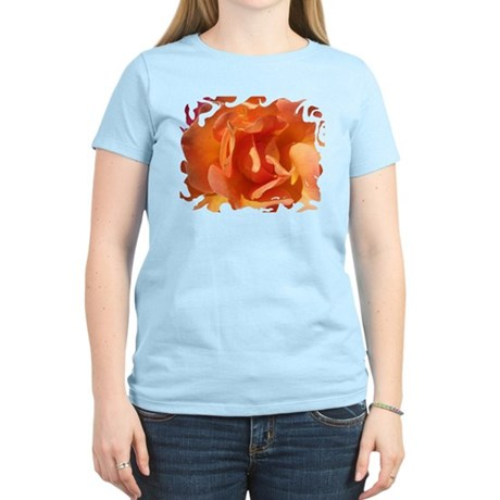 Rose Close Up Women's Light T-Shirt