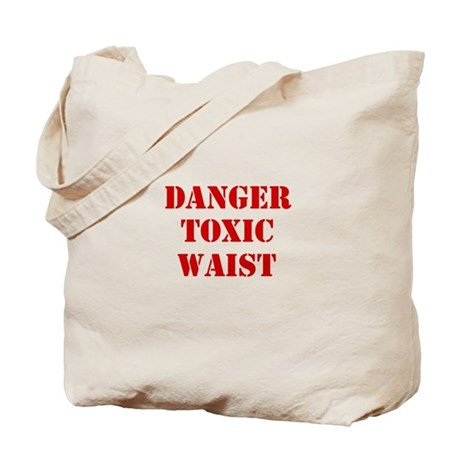 Danger Toxic Waist Tote Bag