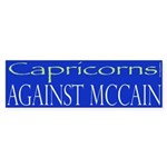 Capricorns Against McCain