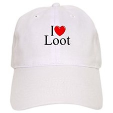 """I Love (Heart) Loot"" Baseball Cap"
