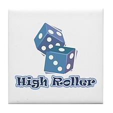 High Roller Tile Coaster