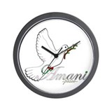 Amani - Peace - Wall Clock