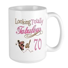 Fabulous 70th Mug