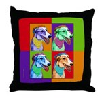 Greyound Throw Pillow
