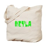 Keyla Faded (Green) Tote Bag