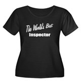 """The World's Best Inspector"" Women's Plus Size Sco"