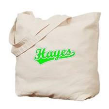Retro Hayes (Green) Tote Bag