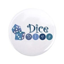 "Dice Diva 3.5"" Button (100 pack)"