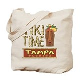 Tampa Tiki Time - Tote Bag