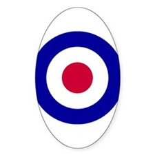 RAF Roundel Oval Decal