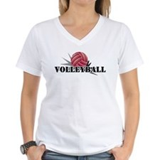 Volleyball starburst red Shirt