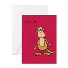 Cute I miss Greeting Card