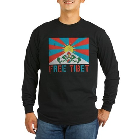 Free Tibet Long Sleeve T-Shirt