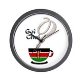 Got Chai? Kenya - Wall Clock