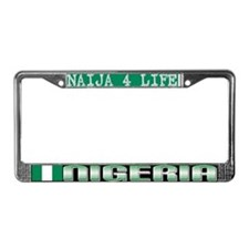 Naija 7 Life - License Plate Frame