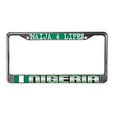 Naija 7 Life - NIGERIA - License Plate Frame