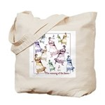 Jane Austen Running Janes Tote Bag
