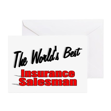 """The World's Best Insurance Salesman"" Greeting Car"