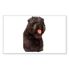 Bouvier Des Flandres Dog Rectangle Sticker 50 pk)
