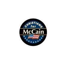 Christians for McCain Mini Button (100 pack)