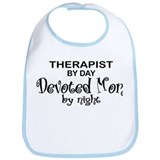 Therapist Devoted Mom Bib