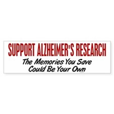 Support Alzheimer's Research 1 Bumper Bumper Sticker
