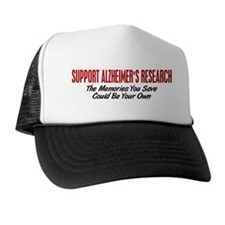 Support Alzheimer's Research 1 Trucker Hat