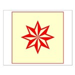 Red Guiding Star Small Poster