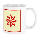 Red Guiding Star Mug