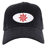 Red Guiding Star Black Cap