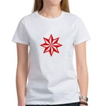 Red Guiding Star Women's T-Shirt