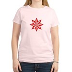 Red Guiding Star Women's Light T-Shirt