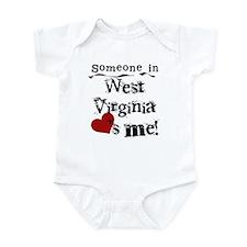 Someone in West Virginia Infant Bodysuit