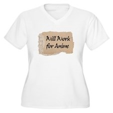 will work for anime T-Shirt