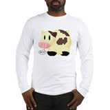 Cows Go Moo Long Sleeve T-Shirt