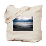 Cute Art in scripture Tote Bag