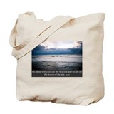 Cute Beach and ocean Tote Bag