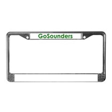 Cute Sounders License Plate Frame