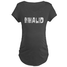 Khalid Faded (Silver) T-Shirt