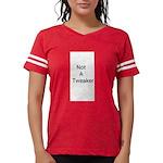 first rule of NWR Women's V-Neck Dark T-Shirt