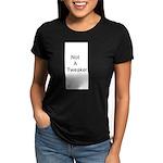 Do you know the diva? V-Neck Black T-Shirt
