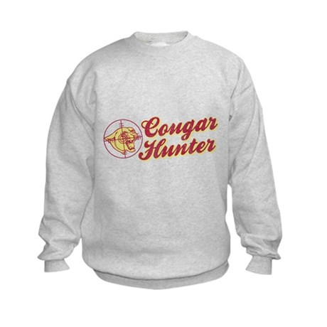 Cougar Hunter Kids Sweatshirt