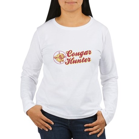 Cougar Hunter Womens Long Sleeve T-Shirt