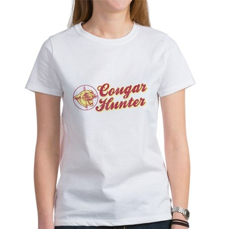 Cougar Hunter Womens T-Shirt