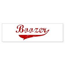 Boozer (red vintage) Bumper Sticker (50 pk)
