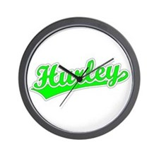Retro Hurley (Green) Wall Clock